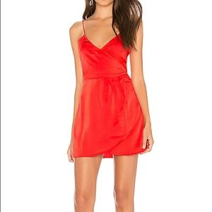 Furia Red Slip dress